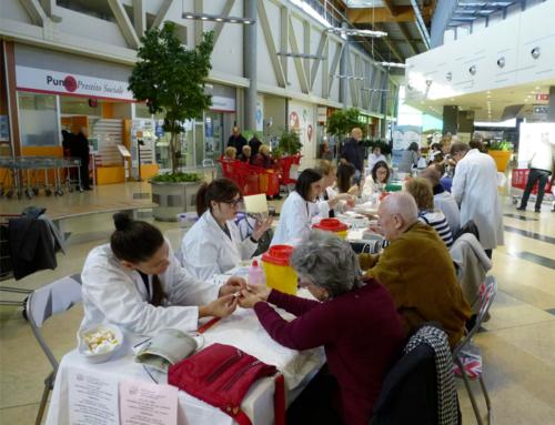 09/11/2019 – Mattinata di prevenzione ictus A.L.IC.e presso Centro Commerciale Borgogioioso di Carpi